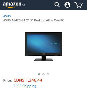 """Asus 21.5 """" desktop all in one touchscreen PC"""