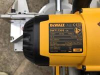 DEWALT mitre saw 110v DW717 XPS LX
