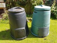 2 x Compost bins - free - collection only