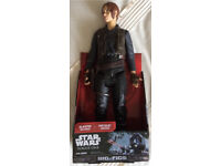 """Large 18"""" Collectable Star Wars Rouge One Figure Toy With Blaster Included Brand New In Original Box"""