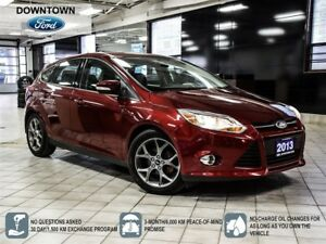 2013 Ford Focus SE, Moonroof, Leather package, Alloy wheels