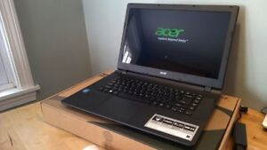 Brand new Acer laptop only 16 days old