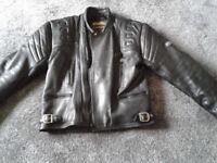 Apollo Sportex Leather Jacket with body armour