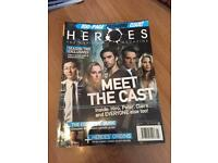 Heroes collectors magazines