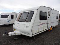 COMPAS RAMBLER SPT56 - 4 BERTH - FIXED BED - TOURING CARAVAN - INGOLDMELLS - COASTFIELDS