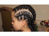 Hair braiding and dreadlocks maintenance service