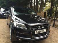 Audi Q7 3.0 TDI S Line Tiptronic Quattro 5dr High Spec Sat Nav Bluetooth, Parking Cameras£17,800 ONO