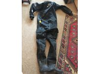 OTTER BRITANNIC MK2 Telescopic membrane dry suit and full dive gear