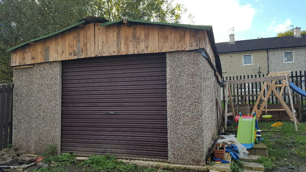 Concrete garage for sale   in Blackburn, Lancashire   Gumtree
