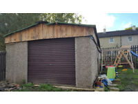 Concrete garage for sale