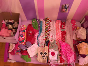 Mix clothing for baby girl