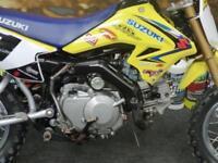 Suzuki DRZ 70 kids motocross bike