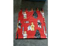 Lego star wars curtains