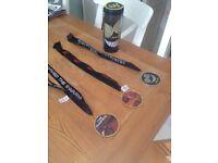 Alton Towers/Thorpe Park medals and mug