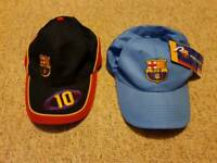 2 Official Barcelona Hats