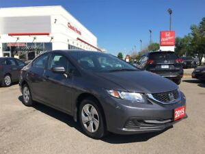 2015 Honda Civic Sedan LX | REAR CAM | HTD SEATS | ECON | BLUETO