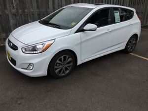 2017 Hyundai Accent GLS, Automatic, Sunroof, Bluetooth, 3,000km