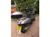 Honda 125 Scooter. Excellant & reliable