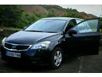 Kia ceed 2010 long MOT the same size as Astra or vw Golf