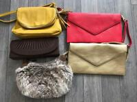 Small handbags/clutch bags