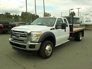 2013 Ford F-550 SuperCab 11.5 Foot Flatdeck Dually 4WD