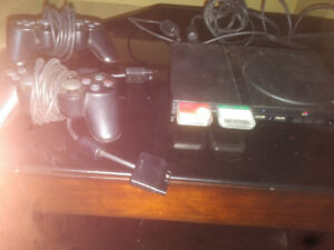Modded PS 2 with Rock Band and other games