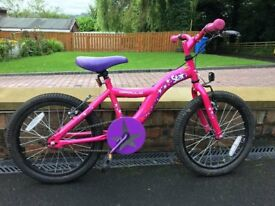Apollo 'Star' Bike 18 inch wheels pink coloured