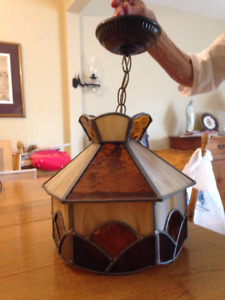 Stained Glass Ceiling Lampshade