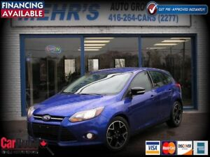 2014 Ford Focus SE Hatchback SYNC All Orig. No Accident