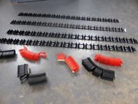 Underfloor Heating pipe rails and clips