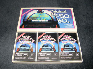 Great Original Hits of the '50s & '60s - Coffret 3 cassettes
