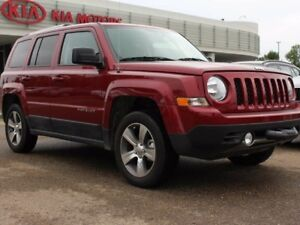 2017 Jeep Patriot SUNROOF, HEATED SEATS, SIRIUS, LEATHER, AUX IN