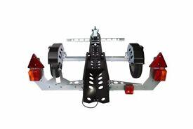 MOTOLUG COLLAPSIBLE MOTORCYCLE TRAILER
