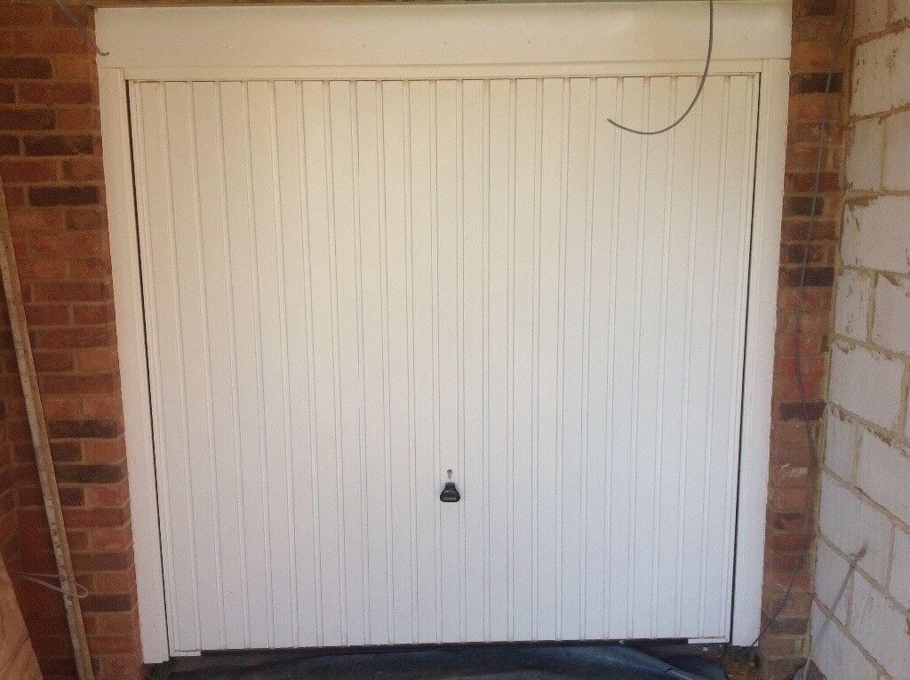 Garador Carlton Design Garage Door White In Bedford