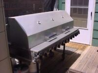 Outdoor barbeque for rent!