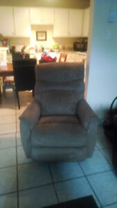 Fauteuil berceuse inclinable