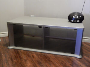 Glass front Entertainment/TV stand for sale