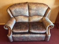 2 seater sofa+ 2 chairs + footstool etc