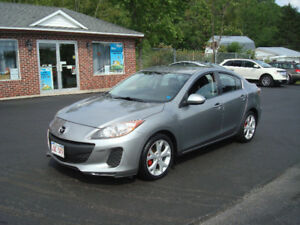 2012 Mazda 3 Sedan - 2.0L 4cyl Auto - New MVI!