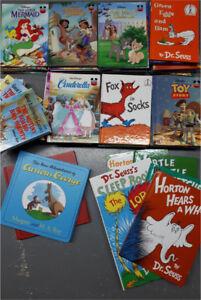 80 Livres en anglais de Disney et Dr. Seuss