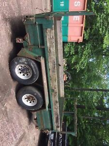 7 ton Dump trailer 6x12 feet