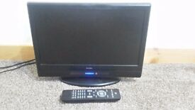 16inch Freeview Digital TV,remote,HDMI,AV,compact size ideal for kitchen,bedroom,VESA mount option