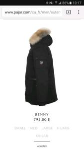 Manteau d'Hiver PAJAR BENNY