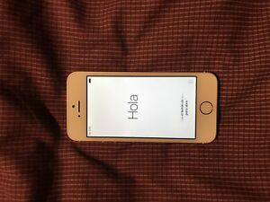 iPhone 5s gold 16gb locked to bell/virgin