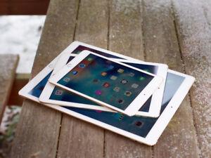 Apple iPad Air, iPad 4, iPad 2, iPad Mini & iPad Mini 2 on SALE!