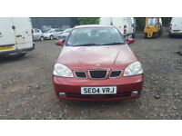 2004 DAEWOO NUBIRA XTRA COOL 5 DOOR PETROL MANUAL