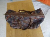 good quality, strong, clean holdall/ carpet bag.