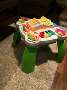 Fisher price laugh and learn fun table