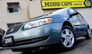 2006 Saturn Ion Level2! Cruise+A/C+AuxIn! LOW KMS!