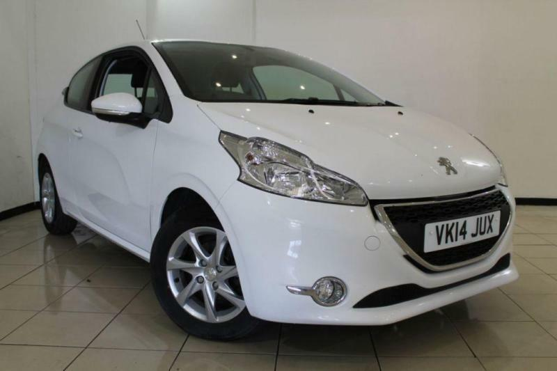 2014 14 PEUGEOT 208 1.4 HDI ACTIVE 3DR 68 BHP DIESEL